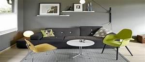 Idees Deco Salon : d co salon gris id es couleur et photo pour s 39 inspirer ~ Melissatoandfro.com Idées de Décoration