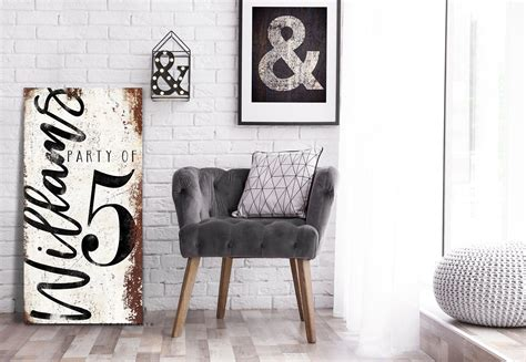 Wooden decorative wall panels, wallart 3d wall panels, 3d wall decor. Family Party of Sign Rustic Farmhouse Personalized Number Sign Large Gallery Wall Art Modern ...