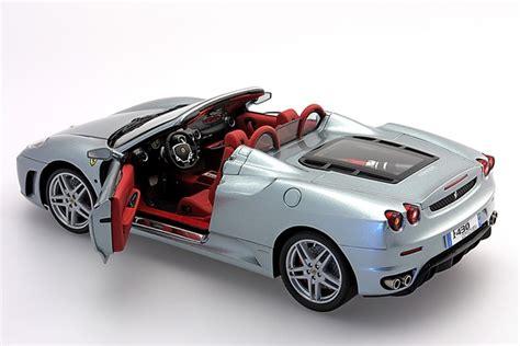 bbr Ferrari F430 Spider (Titanium Silver) (1/18 scale model)