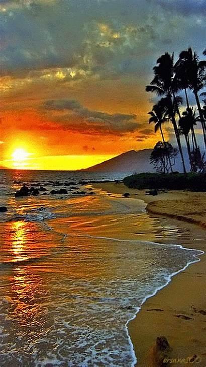 Sunrise Sunset Nature Landscapes Amazing Landscape Ocean
