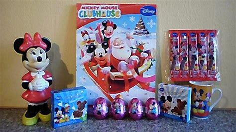disney mickey minnie mouse mega set eggs toys unboxing chocolates ミッキーマウス