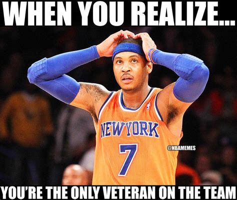 Carmelo Anthony Memes - nba memes on twitter quot carmelo anthony after losing amar e stoudemire iman shumpert jr smith