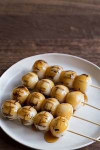 Mitarashi Dango: Sweet and Savory Mochi Dumplings - Dreams ...