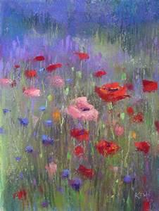 beautiful water color paintings of flowers | Purple Haze ...