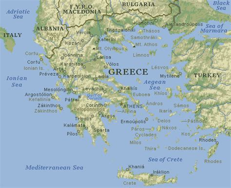 greek islands map  top wallpapers
