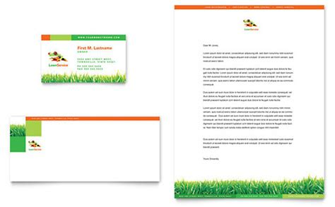 Landscaping Service Business Card Template