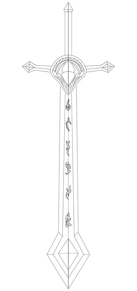 sword template kayle sword template by kinpatsu on deviantart
