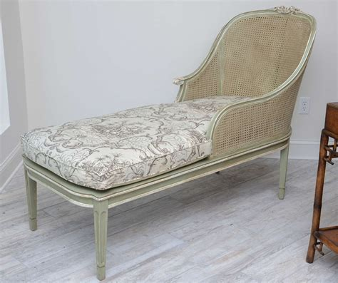 chaise style louis xvi louis xvi style caned chaise lounge for sale at 1stdibs