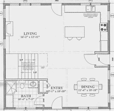 surprisingly open concept cottage plans sopo cottage defining rooms in an open concept floor plan