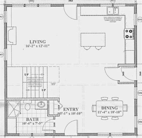 floor plans open concept sopo cottage defining 39 rooms 39 in an open concept floor plan