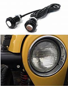 Jeep Wrangler Amber Led Front Turn Signal Lights For Tube