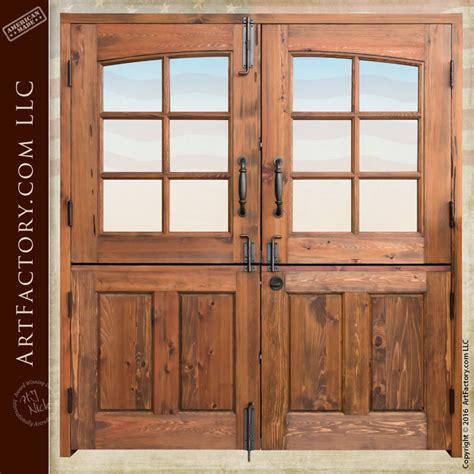 dutch double doors custom handmade  master craftsmen