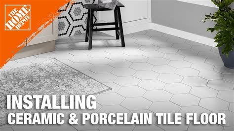 How To Lay A Tile Floor In A Bathroom by Installing Ceramic And Porcelain Floor Tile Step 1 Plan
