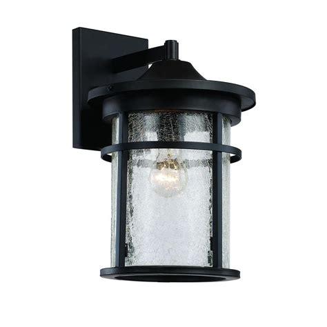 bel air lighting 1 light black outdoor crackled outdoor