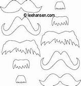 Coloring Mustache Mustaches Printable Dr Mask Templates Sheet Printables Seuss Beard Pages Masks Template Cut Costumes Patterns Leehansen Craft Manly sketch template