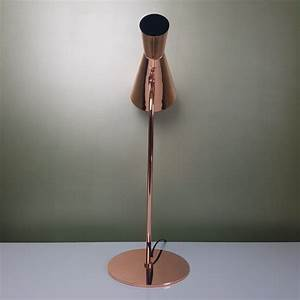Lampe En Cuivre : lampe diabolo en m tal cuivr ~ Carolinahurricanesstore.com Idées de Décoration