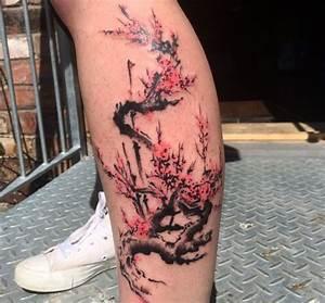 Baum Tattoo Bedeutung : baum tattoo bedeutung kirschblueten tattoo designs mit bedeutungen 35 ideen 12 ~ Frokenaadalensverden.com Haus und Dekorationen