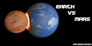 Earth vs Mars (SIMULATION) - YouTube
