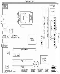 Asus N13219 Motherboard Diagram