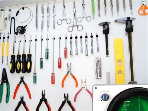 hanging tools on wall tool dots will hang your metal tools without using screws 4145
