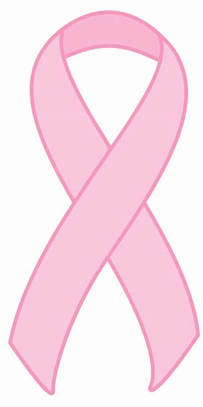 Ribbon Pink Cancer Transparent Breast Background Awareness