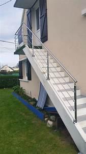 éclairage Escalier Extérieur : escaliers bois escalier int rieur ext rieur divinox ~ Premium-room.com Idées de Décoration