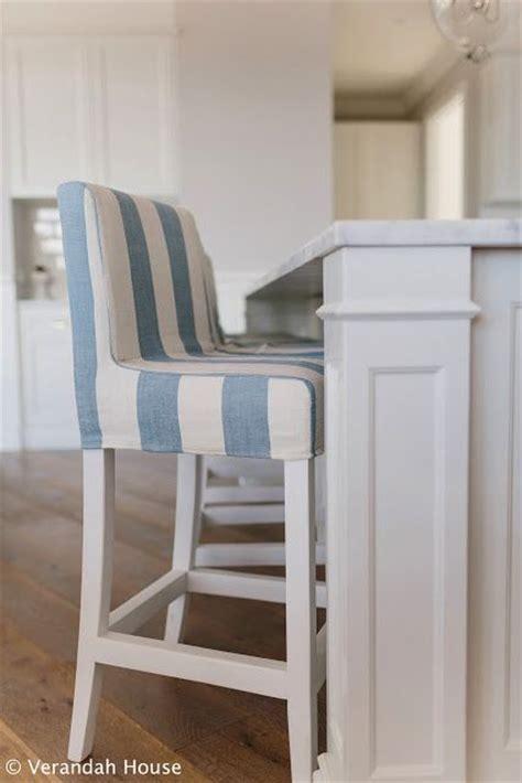 verandah house interiors love  blue  white striped