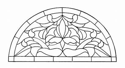 Mosaic Patterns Coloring Stained Printable Glass Pages
