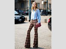 How to work the flared trouser trend – The Upcoming