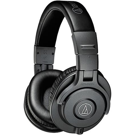 audio technica ath m40x closed back professional studio