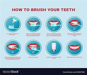 How To Brush Your Teeth Step