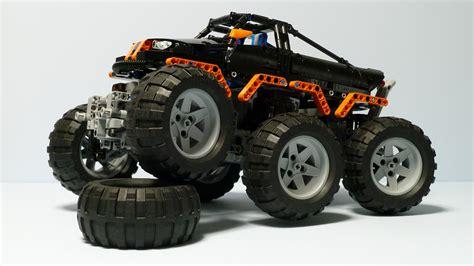 technic truck technic monster truck 6x6 doovi