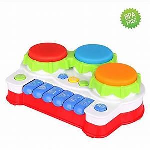 Baby Musik Spielzeug : kleinkind klavier und trommel babyspielzeug musikspielzeug f r lernen aktivit t lukat baby ~ Orissabook.com Haus und Dekorationen