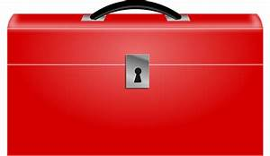 Clipart - Red Toolbox