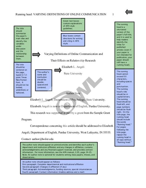 May 12, 2021 · this paper follows the style guidelines in the publication manual of the american psychological association, 6th ed. APA sample paper