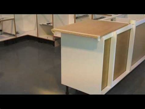 Kitchen fitting end panel scribing Pro Fit   YouTube