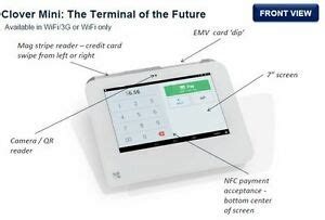"""There are many credit card processing terminals from desktop terminals to mobile swipers. New """"Clover Mini"""" Credit Card Machine Free with a New ..."""