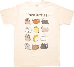 pusheen the cat shirt pusheen the cat i kitties t shirt sheer