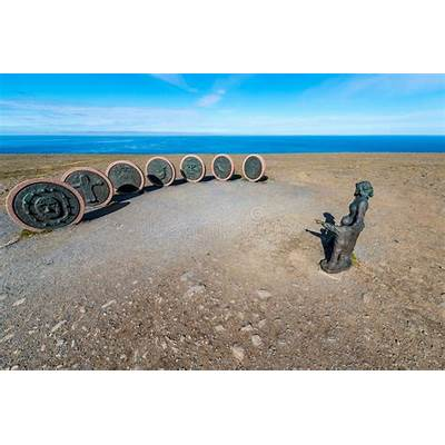 Children Of The Earth Monument In Norway. Editorial Image