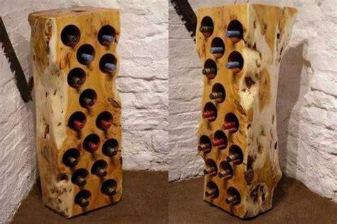 range bouteille bois le rangement bouteilles de vin concepts modernes archzine fr