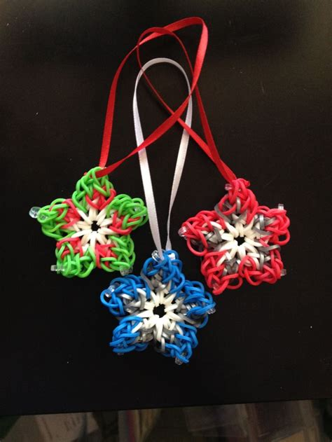 1000 images about christmas rainbow loom on pinterest
