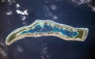 キリバス:Millennium Island, Kiribati : Image of the Day