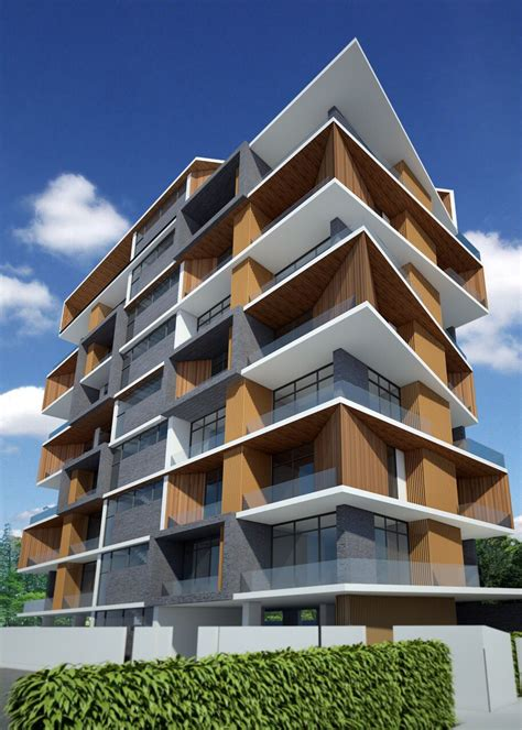 Architecture Design Ideas by Service Apartment Sayar San Road Yangon Myanmar By