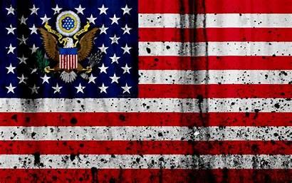 Flag 4k America Usa American North Grunge