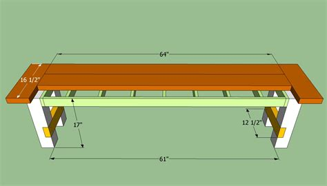 Plans to Build Wooden Bench