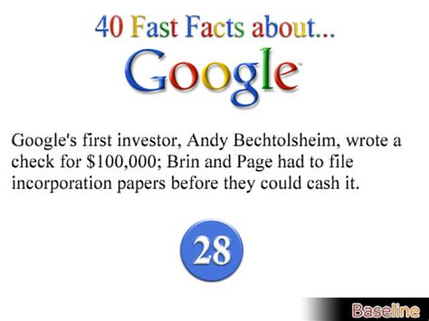 fast facts  google business intelligence news
