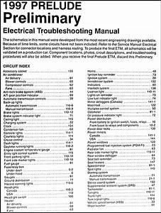 2001 Honda Prelude Wiring Diagram