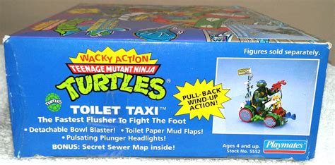 toilet taxi teenage mutant ninja turtles wacky action tmnt