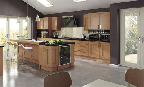 modern oak kitchen kitchen doors accessories uform