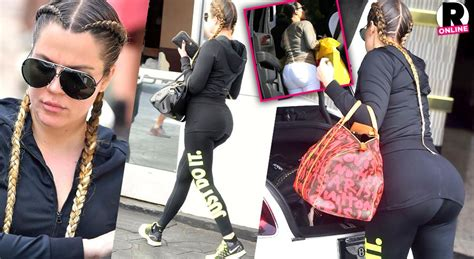 One Day, Two OMG Booties! Khloe & Kim Kardashian Face Off ...